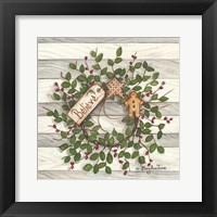 Framed Believe Wreath