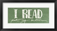 Framed I Read Past My Bedtime