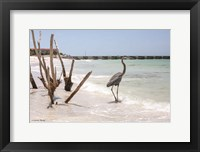 Framed Shore Crane III