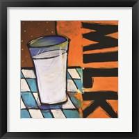 Framed Coffee Shop Milk
