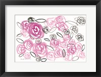Framed Reflections in Roses