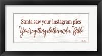 Framed Santa Saw?