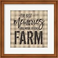 Framed Best Memories