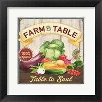 Framed Farm to Table