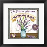 Framed Farm to Table Handmade Soap