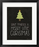Framed Have Yourself a Merry Little Christmas