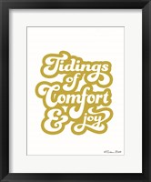 Framed Tidings of Comfort & Joy