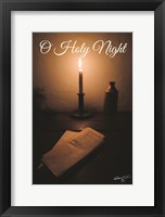 Framed O Holy Night