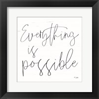 Framed Everything is Possible