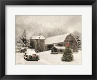 Framed Farmhouse Christmas