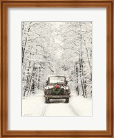 Framed Antique Christmas
