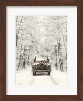 Framed Antique Christmas