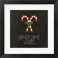 Framed Candy Cane Wishes