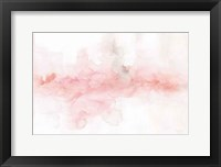 Framed Rainbow Seeds Abstract Blush Gray Crop