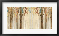 Framed Down to the Woods Autumn Teal Crop