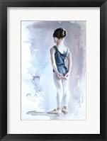 Framed First Day at Ballet