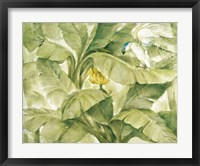 Framed Tropical Canopy II Green