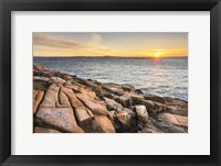 Framed Acadia Sunrise