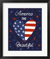 Framed America The Beautiful VI
