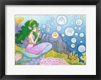 Framed Mermaid