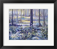 Framed Blue Bayou Swamp