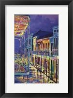 Framed Bourbon Street New Orleans