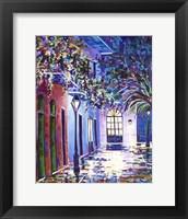 Framed New Orleans Alley Royal St