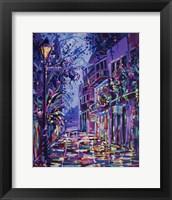 Framed New Orleans Alley