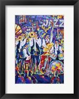 Framed New Orleans Club Jazz