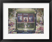 Framed New Orleans Streetcar