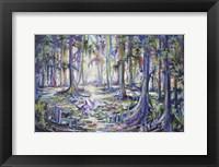 Framed Swamp Bird