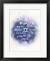 Framed Starlight Astology Gemini