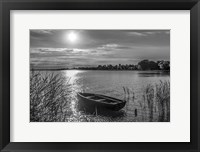 Framed Lonely Boat