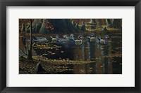 Framed Cypress Jewels - Wood Ducks