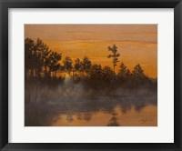 Framed Wicomico Creek Sunset