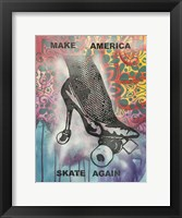 Framed Make America Skate Again