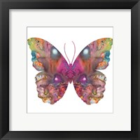 Framed Abstract I Butterfly