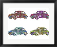 Framed 4 Vw's