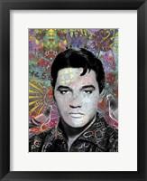 Framed King Elvis