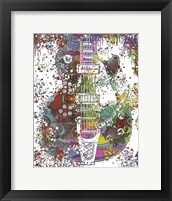 Framed Les Paul Whammy