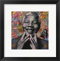 Framed Mandela