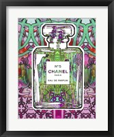 Framed No 5 Chanel