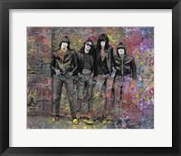 Framed Ramones