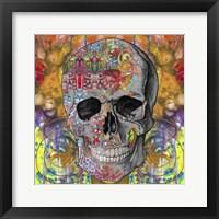 Framed Smile Skull