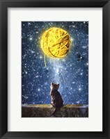 Framed Yarn of Moon