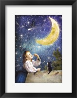 Framed One Wish Upon the Moon