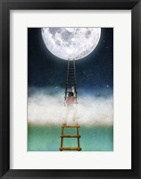Framed Reach for the Moon