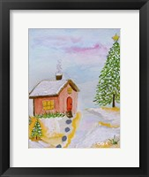 Framed Christmas is Cozy