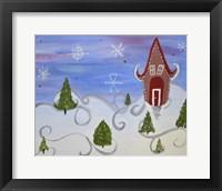 Framed Christmas Whimsy