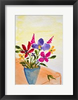Framed Mixed Flowers